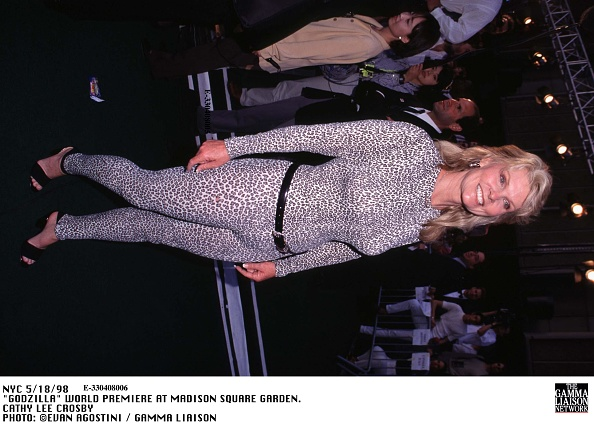 1998年映画 ゴジラ「Godzilla World Premiere At Madison Square Garden Cathy Lee Crosby」:写真・画像(16)[壁紙.com]