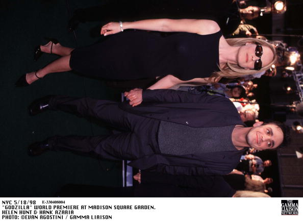 1998年映画 ゴジラ「Godzilla World Premiere At Madison Square Garden Helen Hunt & Hank Azaria」:写真・画像(14)[壁紙.com]