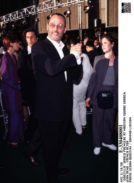 1998年映画 ゴジラ「Godzilla World Premiere At Madison Square Garden Jean Reno French Actor」:写真・画像(4)[壁紙.com]