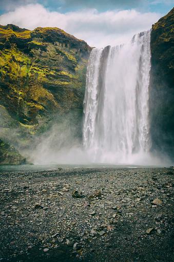 Lava「Skógafoss Waterfall - Iceland」:スマホ壁紙(17)