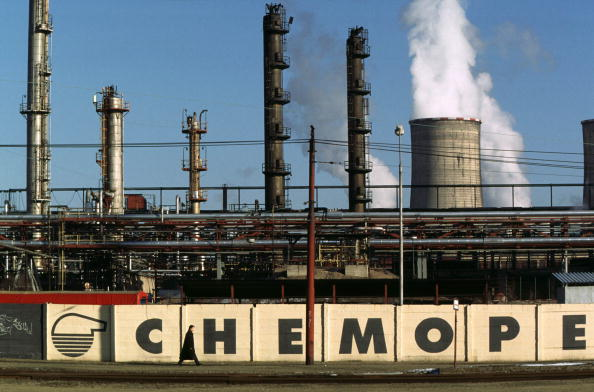 Chemical「Production plant of Czech petrochemical...」:写真・画像(0)[壁紙.com]