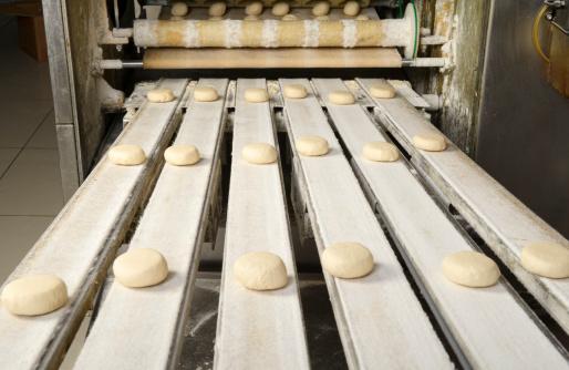 Image processing filter「Production line of burger breads」:スマホ壁紙(2)