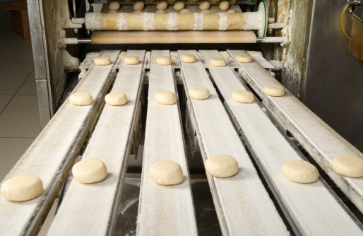 Continuity「Production line of burger breads」:スマホ壁紙(6)