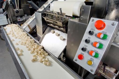 Belt「Production line in a food factory. Ravioli preparation.」:スマホ壁紙(12)