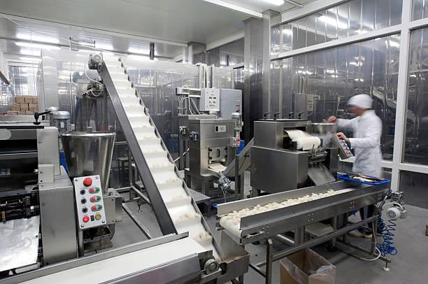 Production line in the food factory.:スマホ壁紙(壁紙.com)