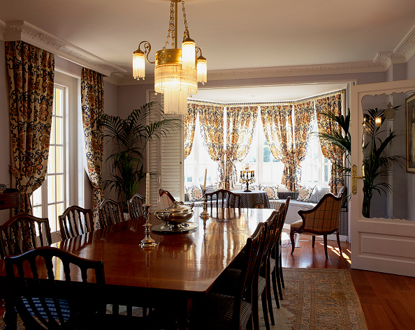 Dining Room「View of a neat dining room」:写真・画像(14)[壁紙.com]