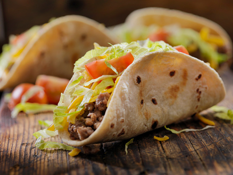 Tortilla - Flatbread「Small 4inch Soft Beef Tacos」:スマホ壁紙(5)
