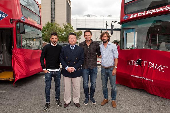 Andrea Pirlo「David Villa, Frank Lampard, Andrea Pirlo NYCFC Ride Of Fame Induction Ceremony」:写真・画像(13)[壁紙.com]