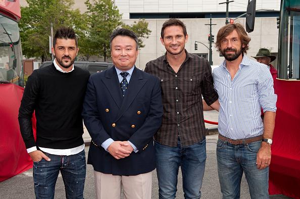 Andrea Pirlo「David Villa, Frank Lampard, Andrea Pirlo NYCFC Ride Of Fame Induction Ceremony」:写真・画像(8)[壁紙.com]