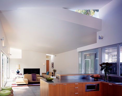 Ceiling「Heavenly Contemporary: Modernist Living Room」:スマホ壁紙(3)