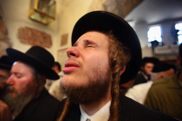 West Bank「Ultra-Orthodox Jews Flock To The Tomb Of Biblical Matriarch Rachel」:写真・画像(8)[壁紙.com]