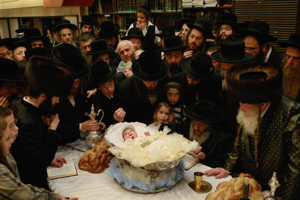 Loaf of Bread「Orthodox Jews Hold Redemption Of First Born Ceremony」:写真・画像(6)[壁紙.com]