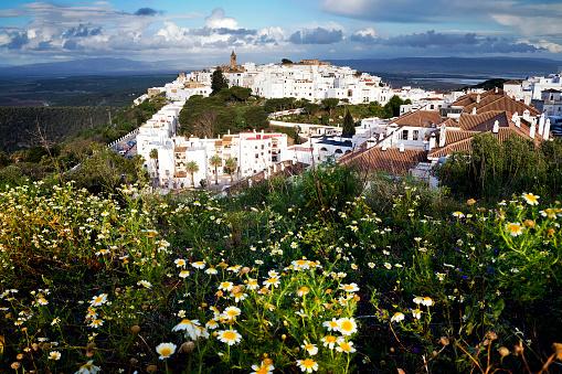 Cádiz「Townscape, Vejer de la Frontera, Cadiz, Andalucia, Spain」:スマホ壁紙(4)
