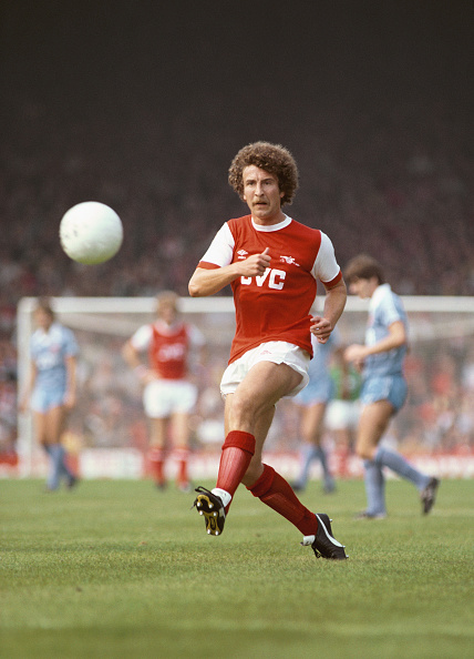Club Soccer「Alan Sunderland Arsenal v Stoke City 1981」:写真・画像(4)[壁紙.com]