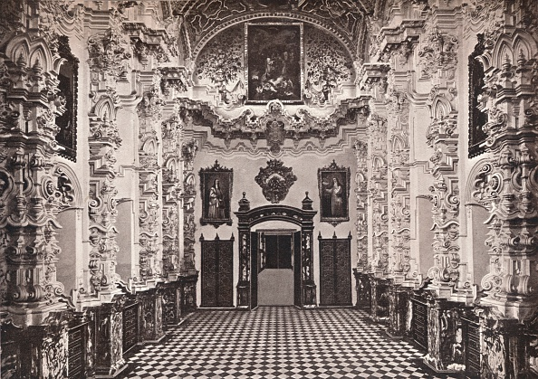 Church「'Granada. Interior of the Cartuja. The Sacristy', c1908」:写真・画像(0)[壁紙.com]