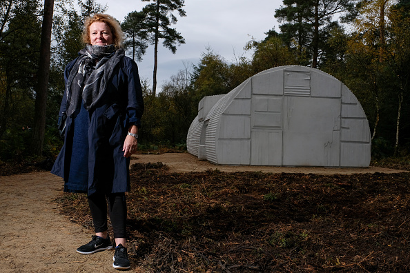 York - Yorkshire「Rachel Whiteread Unveils New Sculpture Nissen Hut」:写真・画像(0)[壁紙.com]