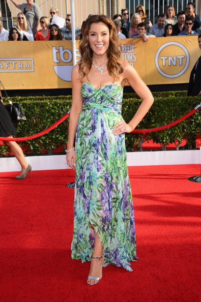 Strapless Dress「20th Annual Screen Actors Guild Awards - Arrivals」:写真・画像(18)[壁紙.com]