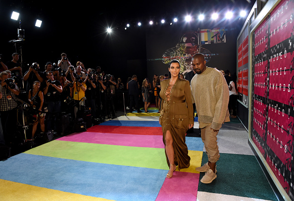 Kanye West - Musician「2015 MTV Video Music Awards - Red Carpet」:写真・画像(11)[壁紙.com]