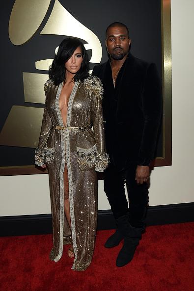 Kanye West - Musician「The 57th Annual GRAMMY Awards - Red Carpet」:写真・画像(5)[壁紙.com]