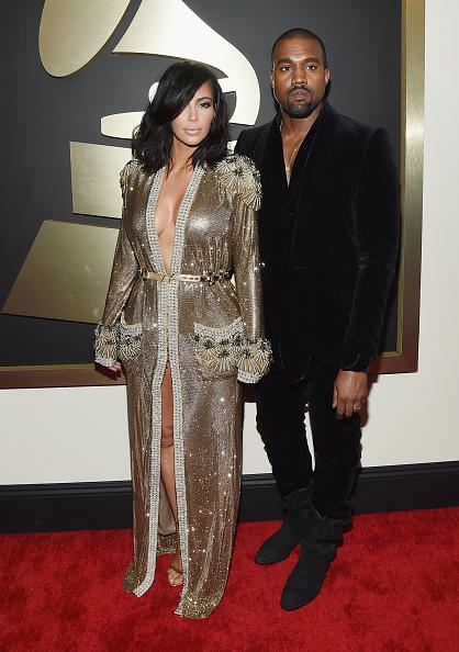 Kanye West - Musician「The 57th Annual GRAMMY Awards - Red Carpet」:写真・画像(11)[壁紙.com]