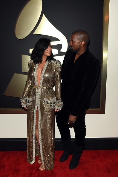 Kanye West - Musician「The 57th Annual GRAMMY Awards - Red Carpet」:写真・画像(4)[壁紙.com]