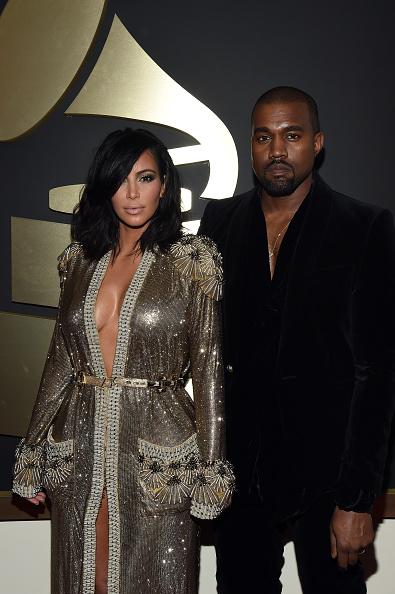 Kanye West - Musician「The 57th Annual GRAMMY Awards - Red Carpet」:写真・画像(6)[壁紙.com]