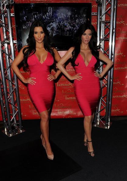 Wax Figure「Kim Kardashian Wax Figure Unveiling At Madame Tussauds」:写真・画像(3)[壁紙.com]