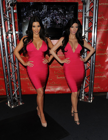 Bandage Dress「Kim Kardashian Wax Figure Unveiling At Madame Tussauds」:写真・画像(0)[壁紙.com]