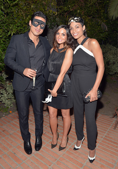 Mario Lopez「The UNICEF Dia de los Muertos Black & White Masquerade Ball」:写真・画像(17)[壁紙.com]