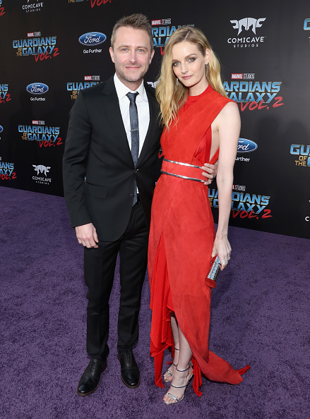 "Two People「The World Premiere Of Marvel Studios' ""Guardians Of The Galaxy Vol. 2.""」:写真・画像(4)[壁紙.com]"