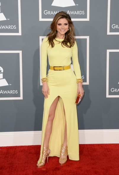 Yellow Dress「The 55th Annual GRAMMY Awards - Arrivals」:写真・画像(6)[壁紙.com]