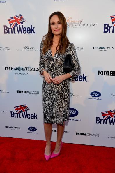 Catt Sadler「8th Annual BritWeek Launch Party - Red Carpet」:写真・画像(16)[壁紙.com]