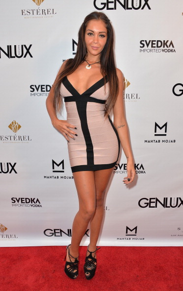 Form Fitted Dress「Genlux Magazine Release Party With Erika Christensen」:写真・画像(18)[壁紙.com]