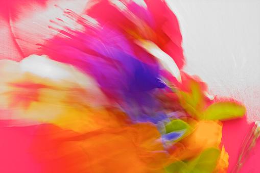 美しさ「自然、抽象的な活気に満ちた、大胆な色 Pantones」:スマホ壁紙(2)