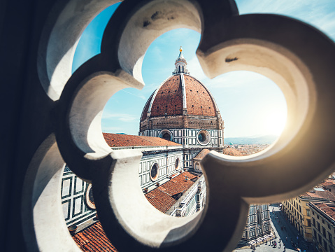Bell Tower - Tower「Duomo In Florence」:スマホ壁紙(11)