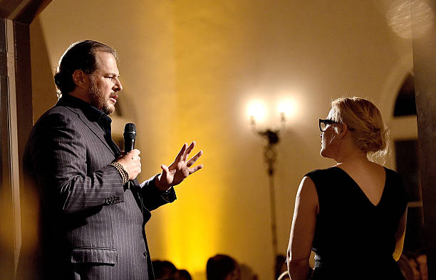 The Dinner For Equality Co-Hosted By Patricia Arquette And Marc Benioff:ニュース(壁紙.com)