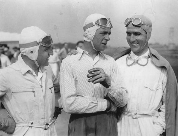 Giuseppe Farina「The Racer Ernst Von Delius And Bernd Rosemeyer And Giuseppe Farina At The Roosevelt Racetrack. Roosevelt Raceway. 1937. Photograph.」:写真・画像(14)[壁紙.com]