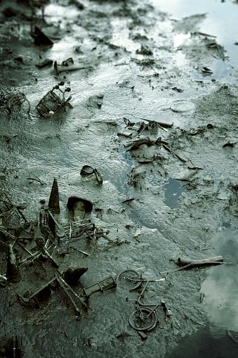 Dublin - Republic of Ireland「River Debris」:スマホ壁紙(14)