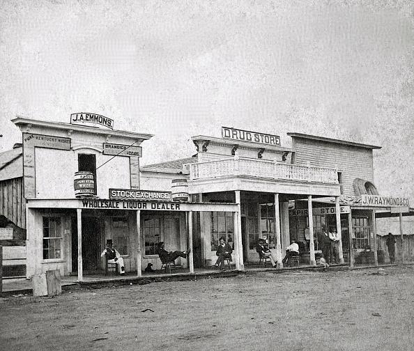 New Mexico「Santa Fe, New Mexico Territory Street Scene」:写真・画像(12)[壁紙.com]