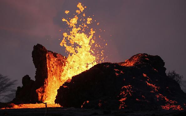 Hawaii Islands「Hawaii's Kilauea Volcano Erupts Forcing Evacuations」:写真・画像(17)[壁紙.com]