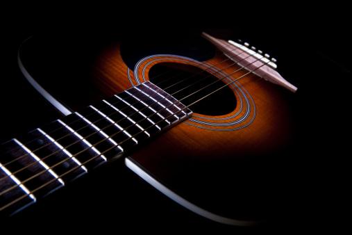 String Instrument「Aciustic guitar」:スマホ壁紙(9)