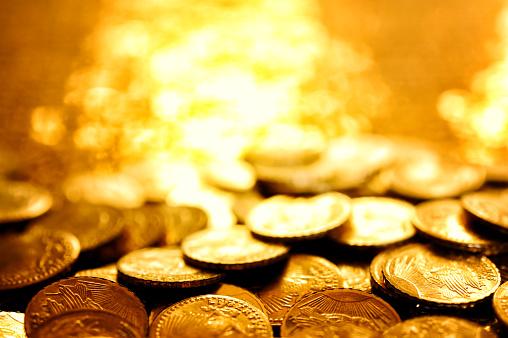 Glitter「Gold coins」:スマホ壁紙(18)