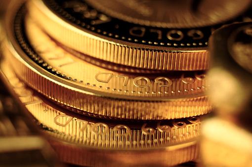 Capitalism「Gold coins」:スマホ壁紙(6)