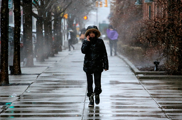 Snow「Another Major Nor'Easter Barrels Into Northeastern U.S.」:写真・画像(17)[壁紙.com]
