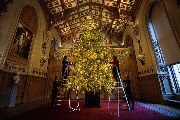 Christmas「The State Apartments At Windsor Castle Are Decorated for Christmas」:写真・画像(0)[壁紙.com]