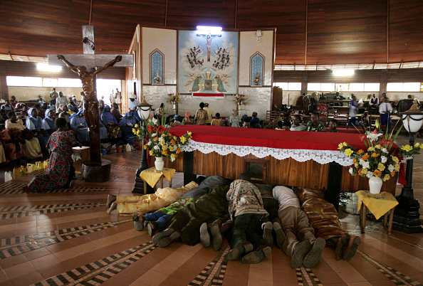 Religion「Christian Pilgrims Converge For Celebration Of Martyrs Day」:写真・画像(0)[壁紙.com]