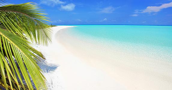 Maldives「Beautiful tropical beach.」:スマホ壁紙(9)