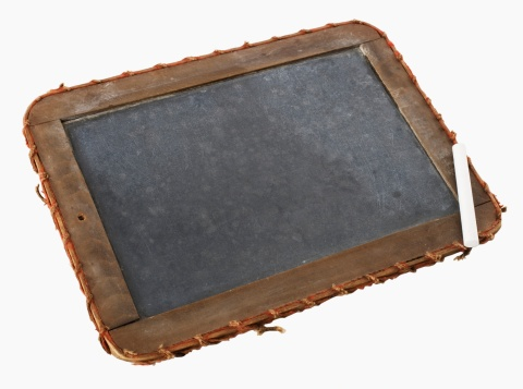 Chalk - Art Equipment「Chalkboard with wood frame」:スマホ壁紙(1)