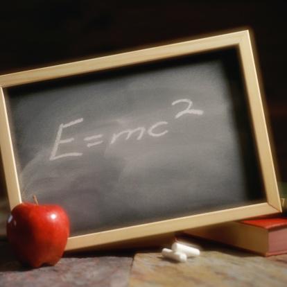 Chalk - Art Equipment「Chalkboard with Einstein's Theory of Relativity」:スマホ壁紙(14)