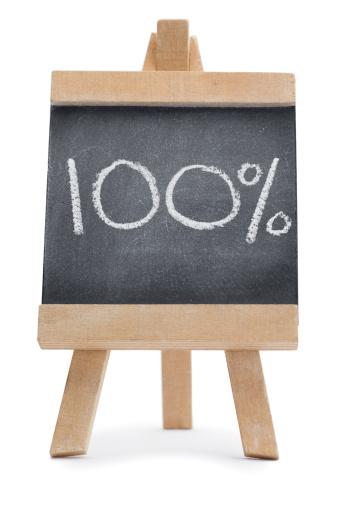 Chalk - Art Equipment「Chalkboard with a percentage」:スマホ壁紙(7)